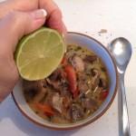 Thai soup complete
